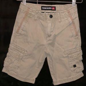 Quiksilver little boys cargo shorts